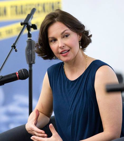 Hollywood actress visited east Ukraine