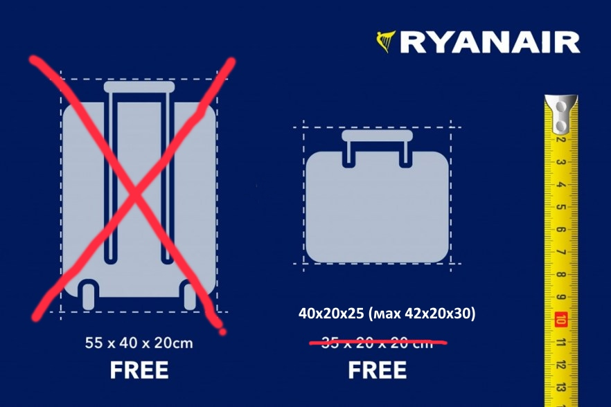Ryanair Limited A Hand Luggage